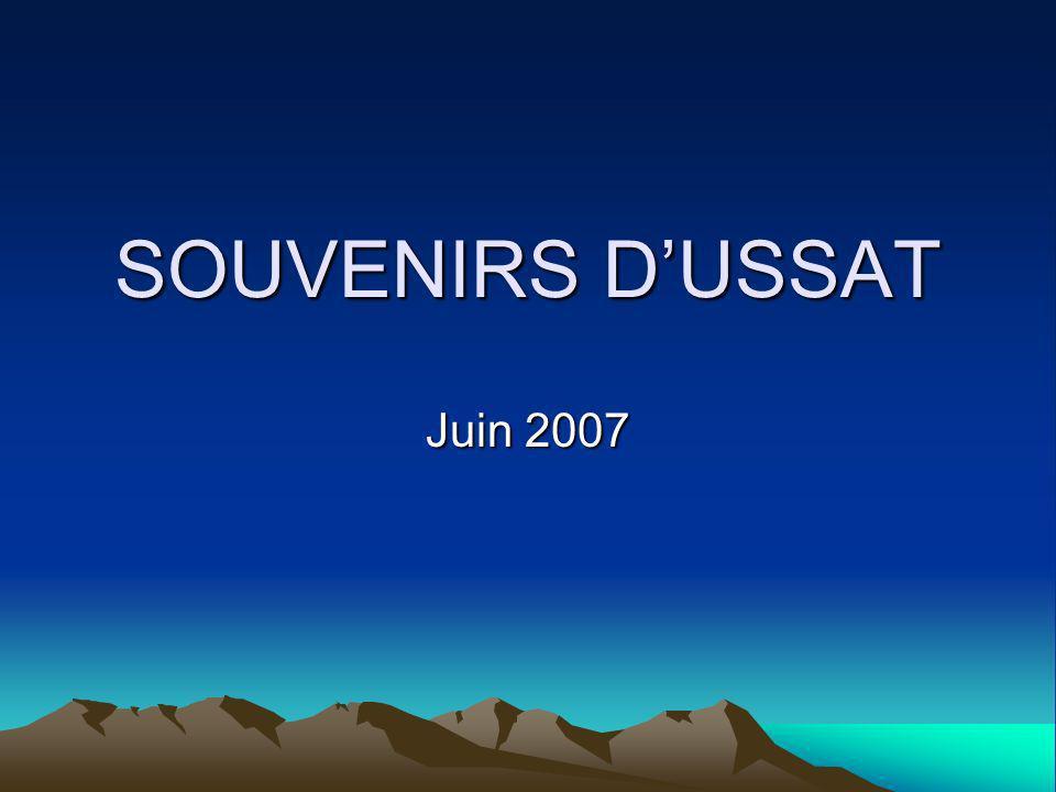 SOUVENIRS DUSSAT Juin 2007