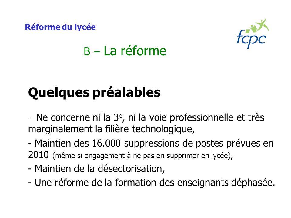 Réforme du lycée B – La réforme Les langues vivantes Réalisé en groupes de compétences (selon les 5 compétences des certifications européennes).