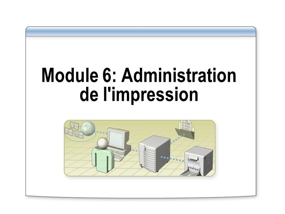 Leçon : Planification de la disponibilité des imprimantes Quand est-il nécessaire de planifier la disponibilité des imprimantes .