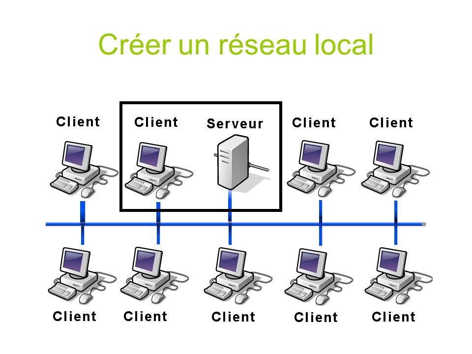 Créer un réseau local