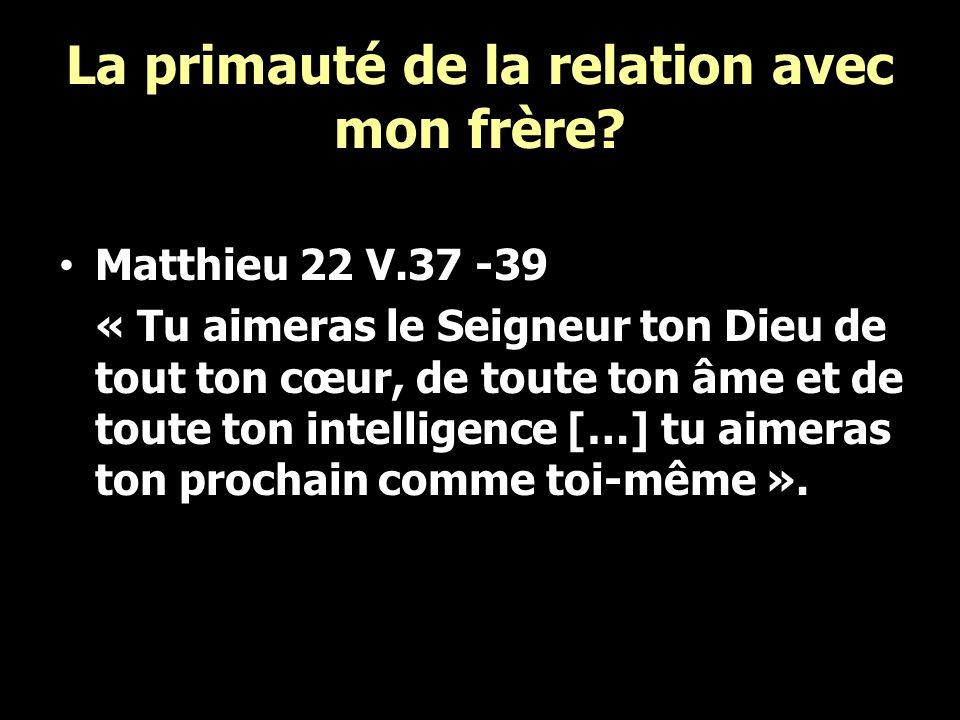 « Encouragez-vous mutuellement, contribuez à la construction de lautre » V.11 Je suis en partie responsable de la croissance spirituelle de mon frère.