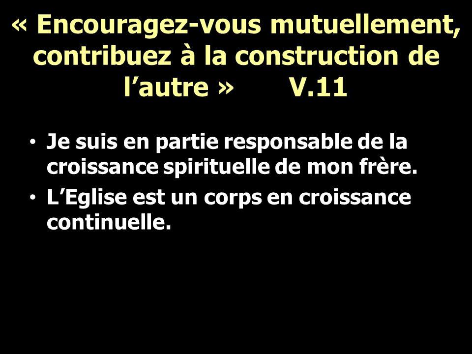 « Avoir de la considération pour ceux qui […] vous dirigent » V.12-13 Se donner de la peine, avertir, diriger.