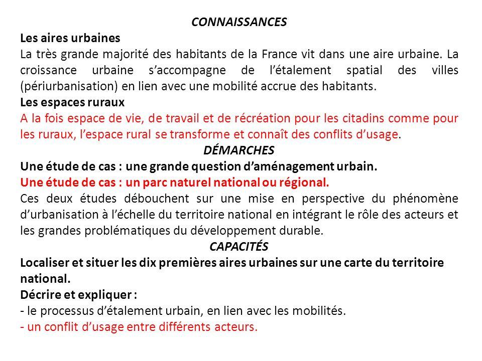 Il ne sagit pas ici de faire un inventaire détaillé de la pluralité de lespace rural en France.