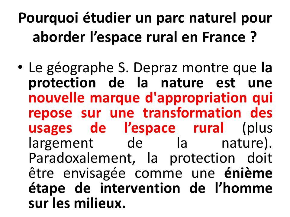 Les parcs naturels régionaux ont pour but de mettre en œuvre une intervention raisonnée et raisonnable de lhomme sur le milieu (approche intégratrice).