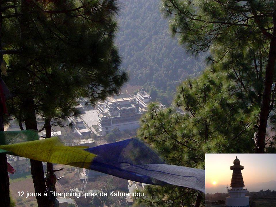 Photo Annie Béghin 12 jours à Pharphing près de Katmandou