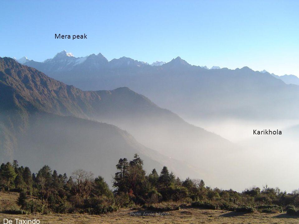 Photo Annie béghin Karikhola Mera peak De Taxindo
