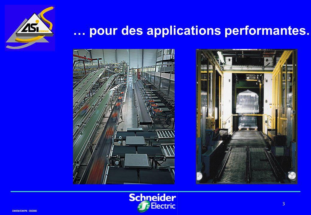 DMEM/DMPII - 03/2000 3 … pour des applications performantes.