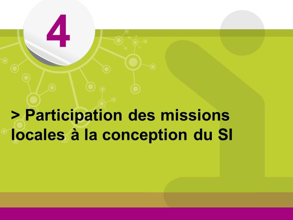 © > Participation des missions locales à la conception du SI 4