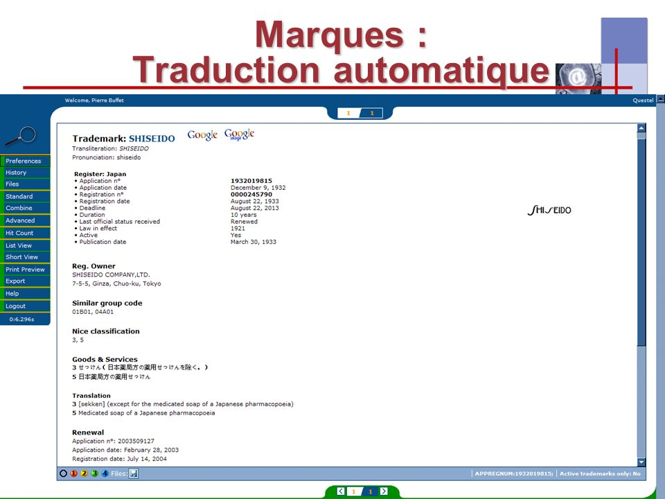 I-expo 2008 – Asie & multilinguisme25 Marques : Traduction automatique