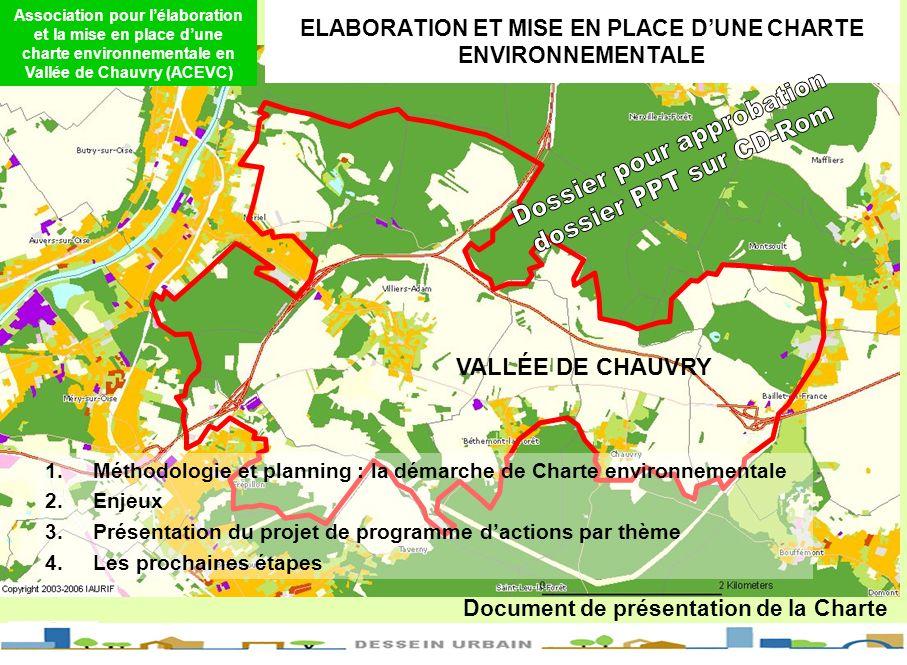 ELABORATION ET MISE EN PLACE DUNE CHARTE ENVIRONNEMENTALE Association pour lélaboration et la mise en place dune charte environnementale en Vallée de