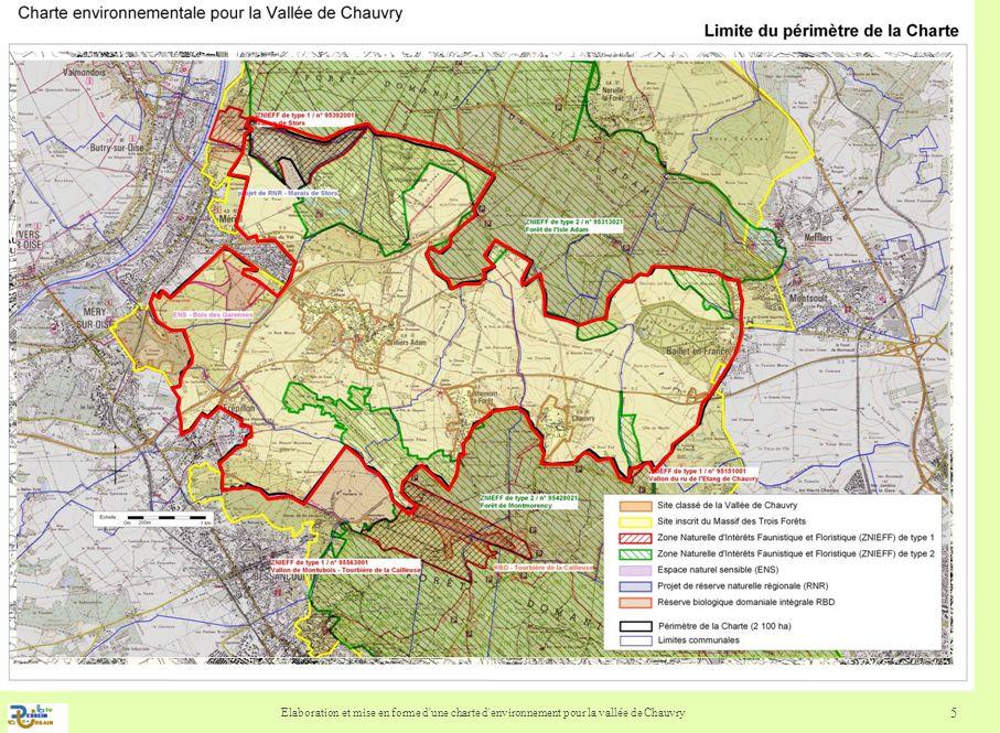 Elaboration et mise en forme d'une charte d'environnement pour la vallée de Chauvry 5