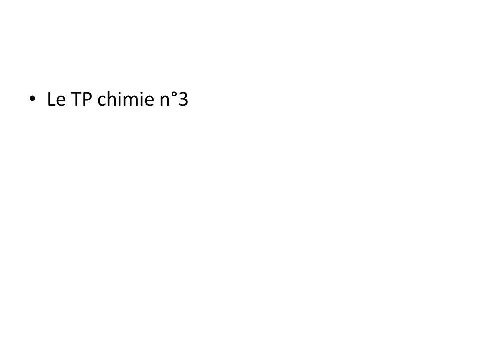 1.2.2 Température de fusion et débullition – La température de fusion est la température à laquelle une espèce chimique passe de l état solide à l état liquide Exemple : T fus (eau) = 0°C, T fus (dichlorométhane) = -95°C T fus (cuivre) = 1084 °C – La température d ébullition est la température à laquelle une espèce chimique passe de l état liquide à l état gazeux Exemple : T eb (eau) = 100°C T eb (dichlorométhane) = 39,8°C T eb (cuivre) = 2567°C
