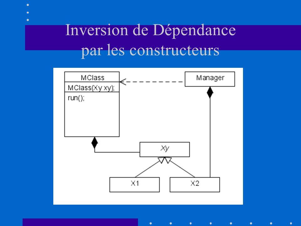Inversion de Dépendance par les constructeurs