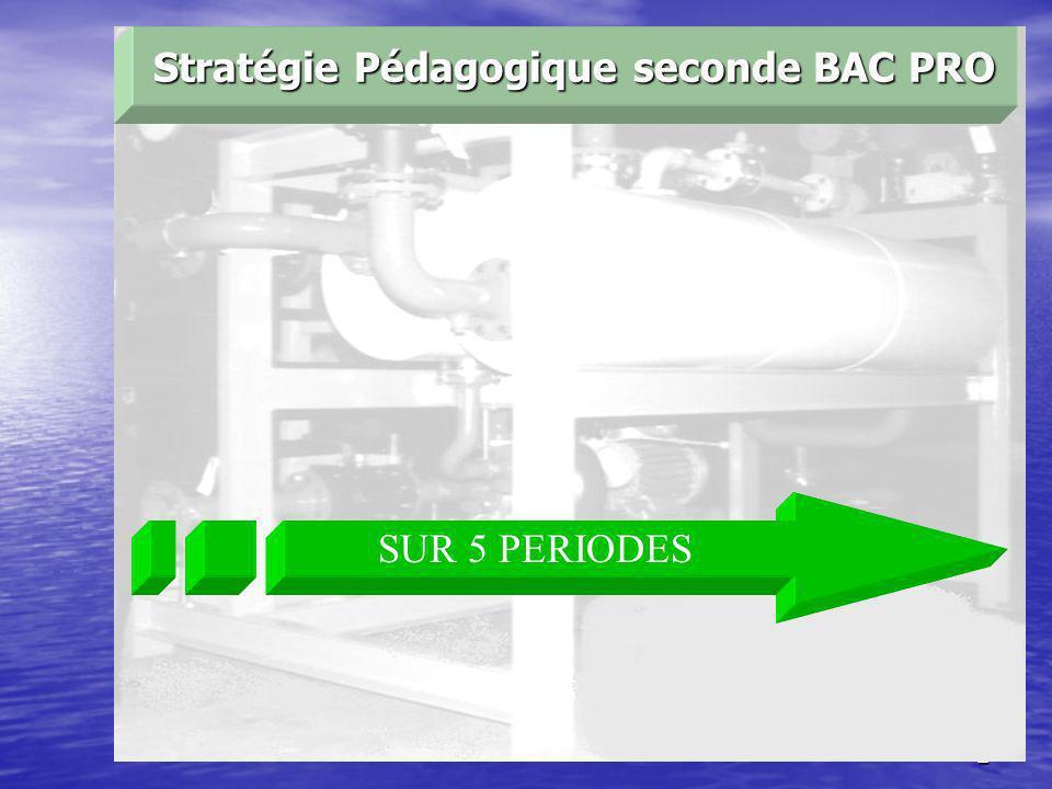 2 SUR 5 PERIODES Stratégie Pédagogique seconde BAC PRO