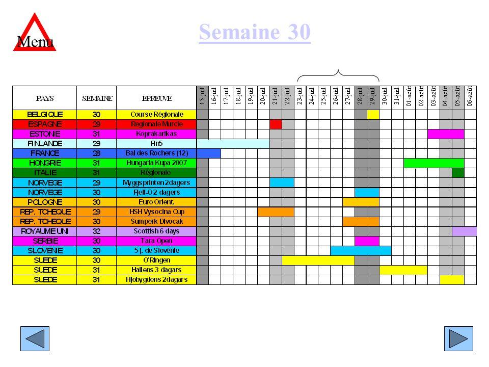 Semaine 30 Menu