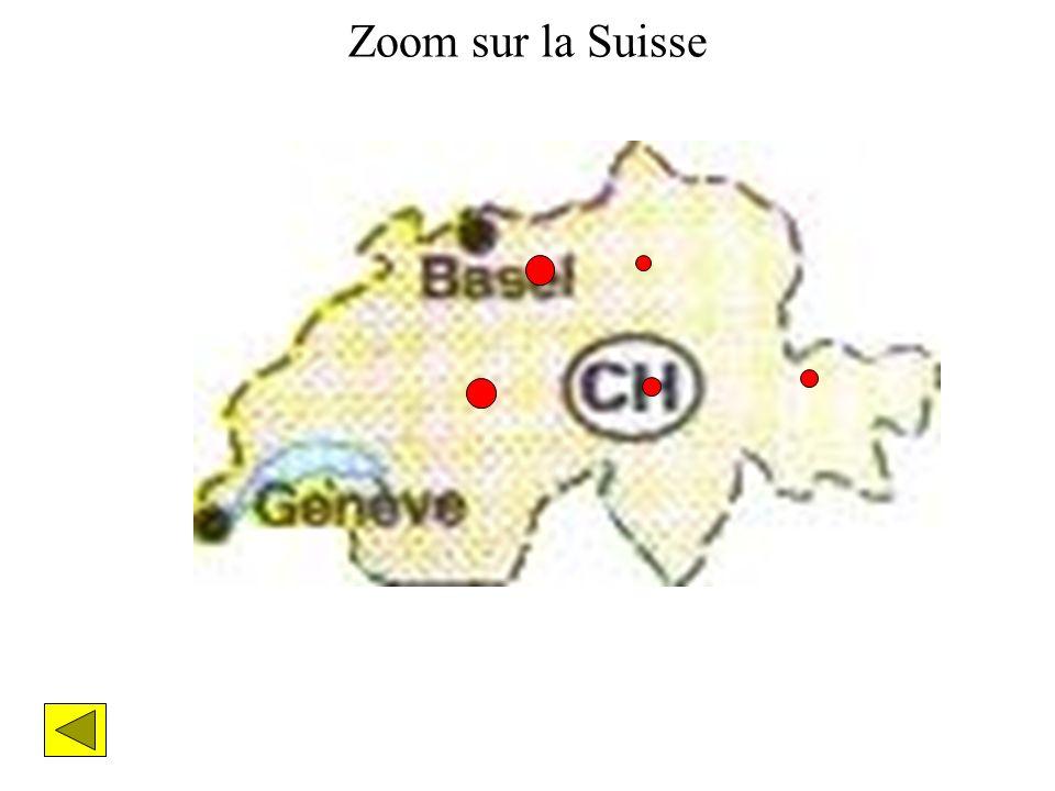 Zoom sur la Suisse