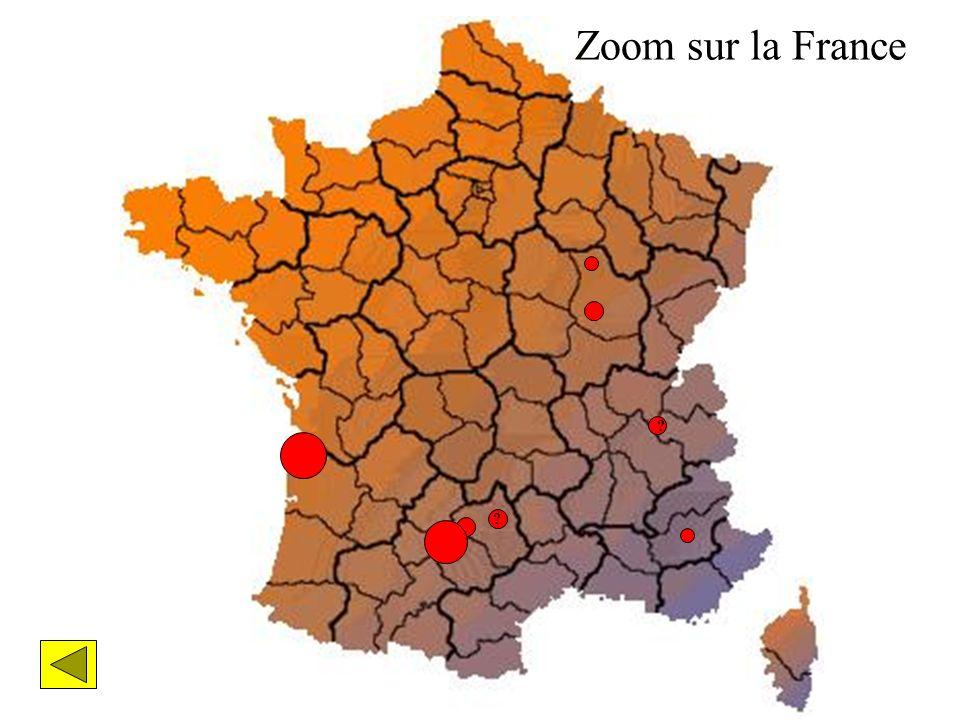 Zoom sur la France