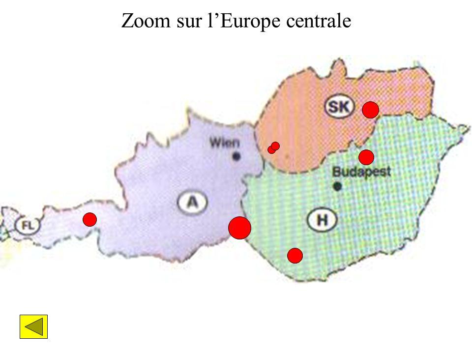 Zoom sur lEurope centrale