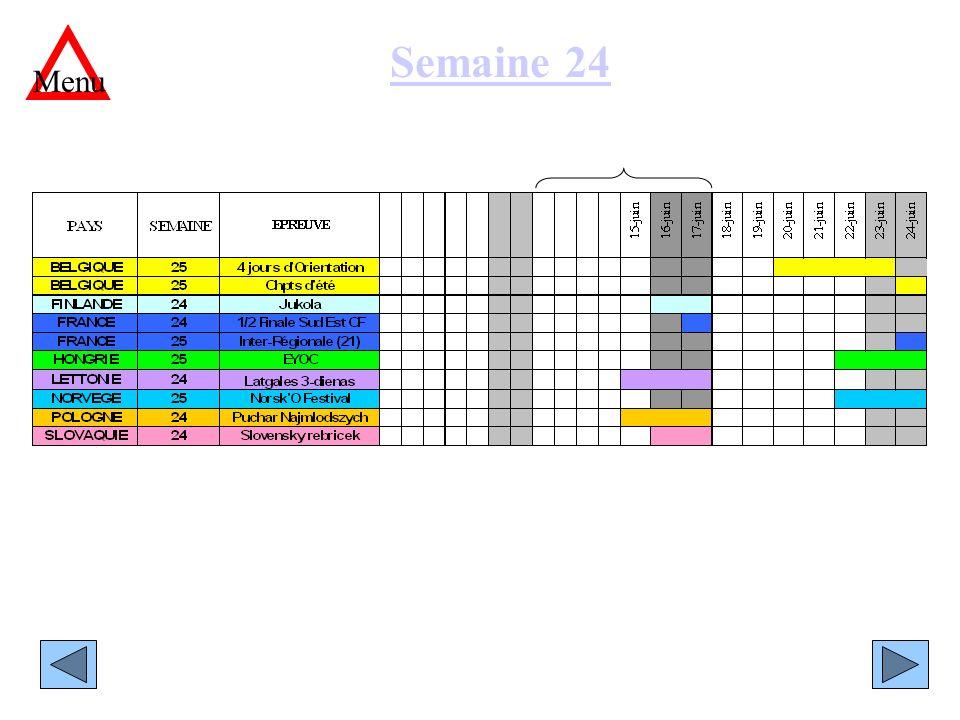 Semaine 24 Menu