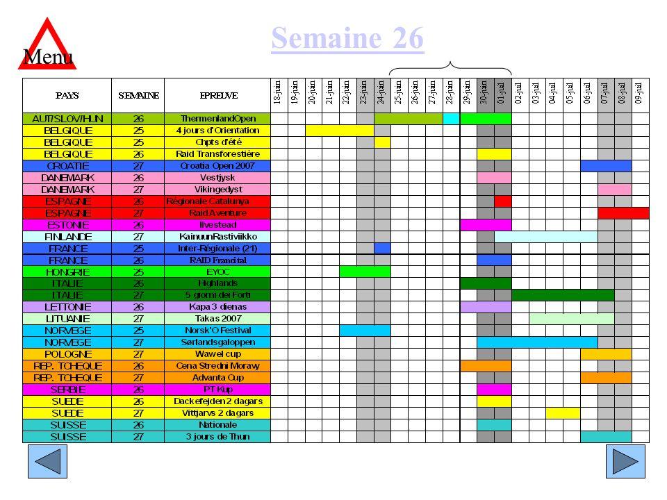 Semaine 26 Menu