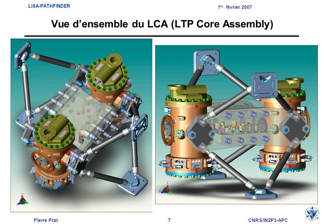 Pierre Prat8CNRS/IN2P3-APC LISA-PATHFINDER 1 er février 2007 Project Management / Project Science: –ESA/ESTEC - Pays bas Centre opérationnel de la mission: –ESA/ESOC – Allemagne Industriel Maître dœuvre de LISA-Pathfinder / module de propulsion –ASTRIUM Ltd Industriel Maître dœuvre du LTP: –ASTRIUM Gmbh