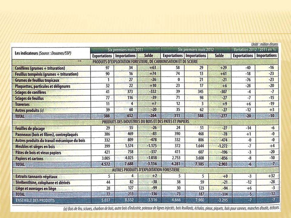 FBF-FBIE : - Le projet Forêt Bois pour la France - Fonds Forestiers Stratégique Carbone En 2012 : quotas carbone 580 M affectés à ANAH En 2013 : Tonne carbone ~ 2,5 Maintenir notre demande….