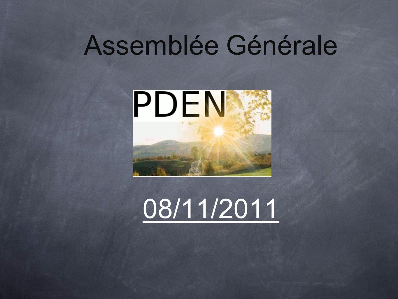 Assemblée Générale 08/11/2011