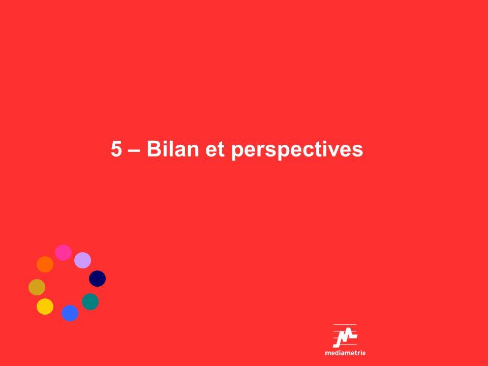 5 – Bilan et perspectives