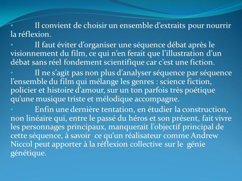 Séance 5 rédiger une argumentation sur un sujet de société Le destin de lhomme peut-il être lié au génie génétique .