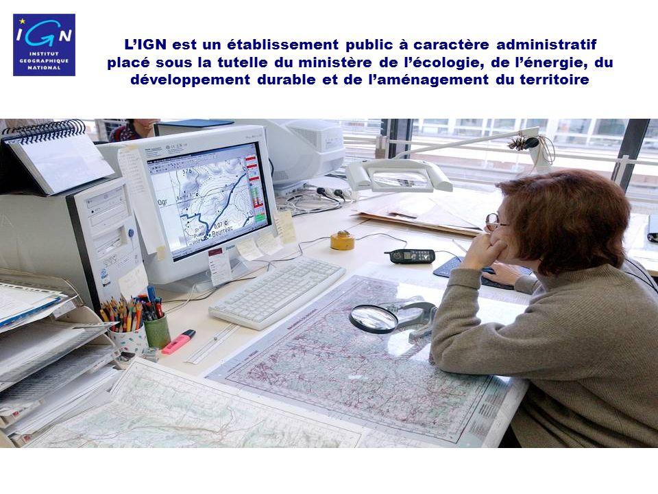 2 LIGN est un établissement public à caractère administratif placé sous la tutelle du ministère de lécologie, de lénergie, du développement durable et de laménagement du territoire