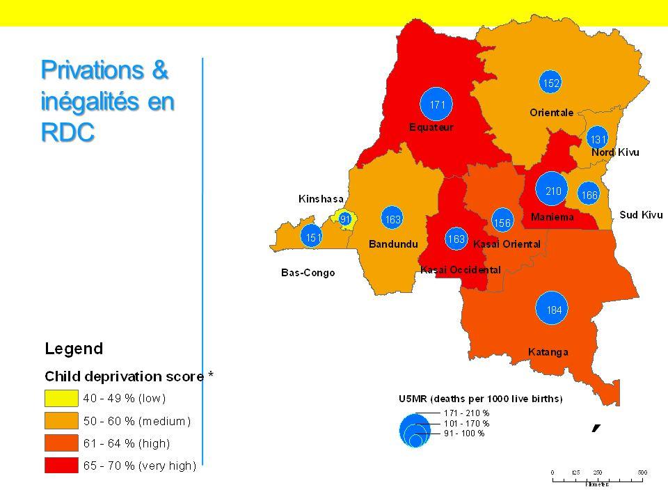 Privations & inégalités en RDC