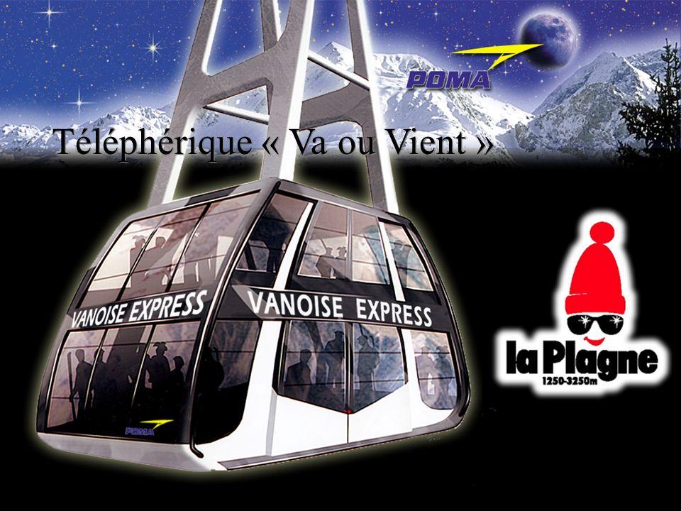 Les domaines skiables des Arcs et de La Plagne seront reliés par un téléphérique dont la mise en service est prévue pour Noël 2003 : - un événement majeur pour la montagne au niveau mondial - Le grand domaine Les Arcs-La Plagne : De Villaroger à Champagny-la-Vanoise, du glacier de lAiguille Rouge à celui de Bellecôte, les skieurs pourront parcourir plus de 425 km de pistes, équipées de 175 remontées mécaniques.