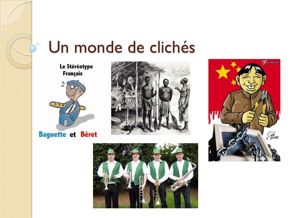 Clichés des français sur certaines nationalités Les Etats-Unis Puissance sans conscience .