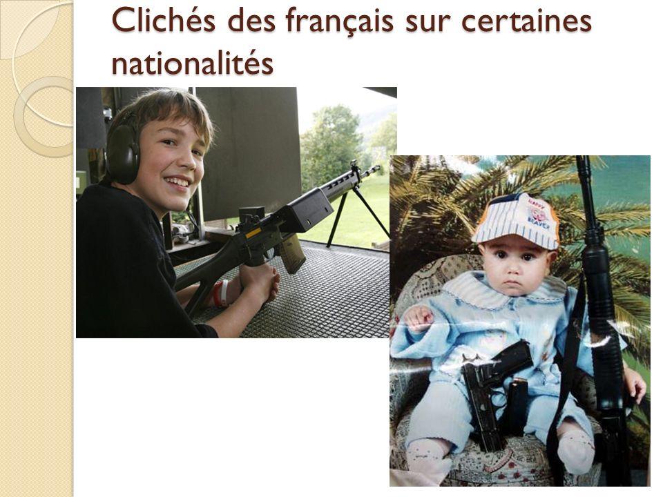 Clichés des français sur certaines nationalités Les Etats-Unis Puissance sans conscience ? Une jeunesse épanouie