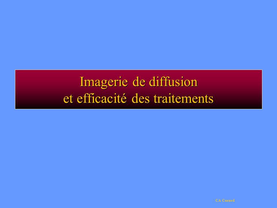 CA Cuenod Imagerie de diffusion et efficacité des traitements