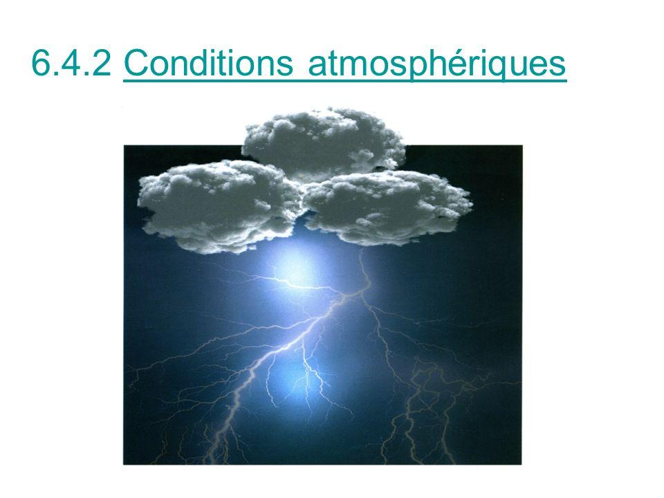 Brume, embruns, orage conditionnent la faisabilité des travaux et lévaluation du risque: Dégradation des protections isolantes mises en place Surtensions Visibilité