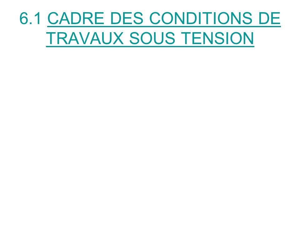 TRAVAUX SOUS TENSION TRAVAUX HABITUELS DEXPLOITATION DES COMPAGNIES DE RESEAUX DE TRANSPORT ET DE DISTRIBUTION DENERGIE TRAVAUX EXCEPTIONNELS POUR TOUS LES AUTRES TYPES DINSTALLATIONS: SALLE DOPERATION BALISAGE AERIEN FOUR INDUSTRIEL…