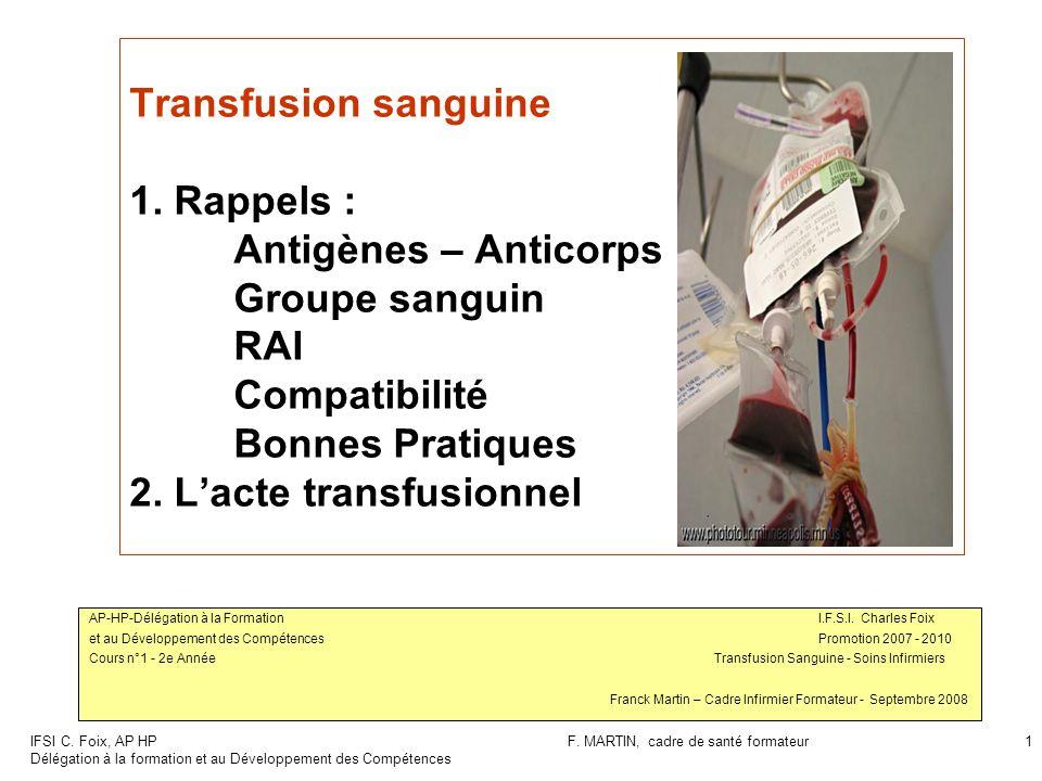IFSI C.Foix, AP HP Délégation à la formation et au Développement des Compétences F.