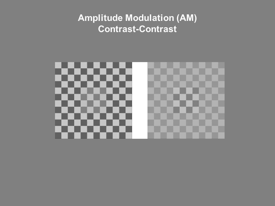 Amplitude Modulation (AM) Contrast-Contrast