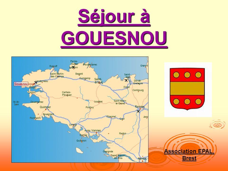Séjour à GOUESNOU Association EPAL, Brest