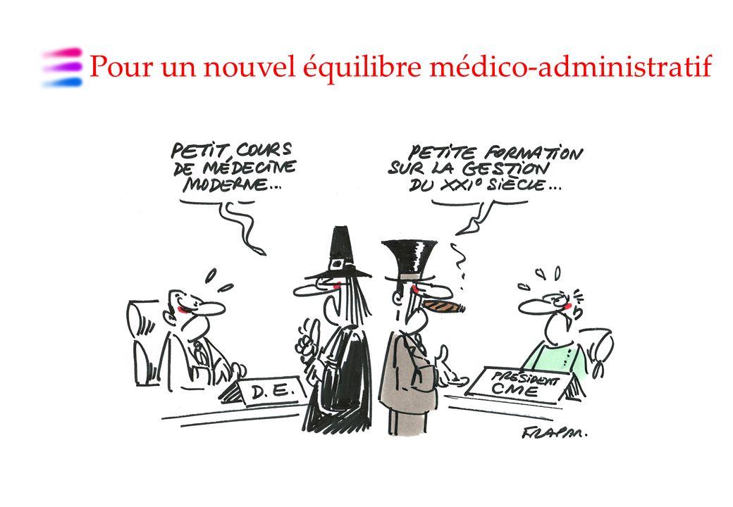 Pour un nouvel équilibre médico-administratif