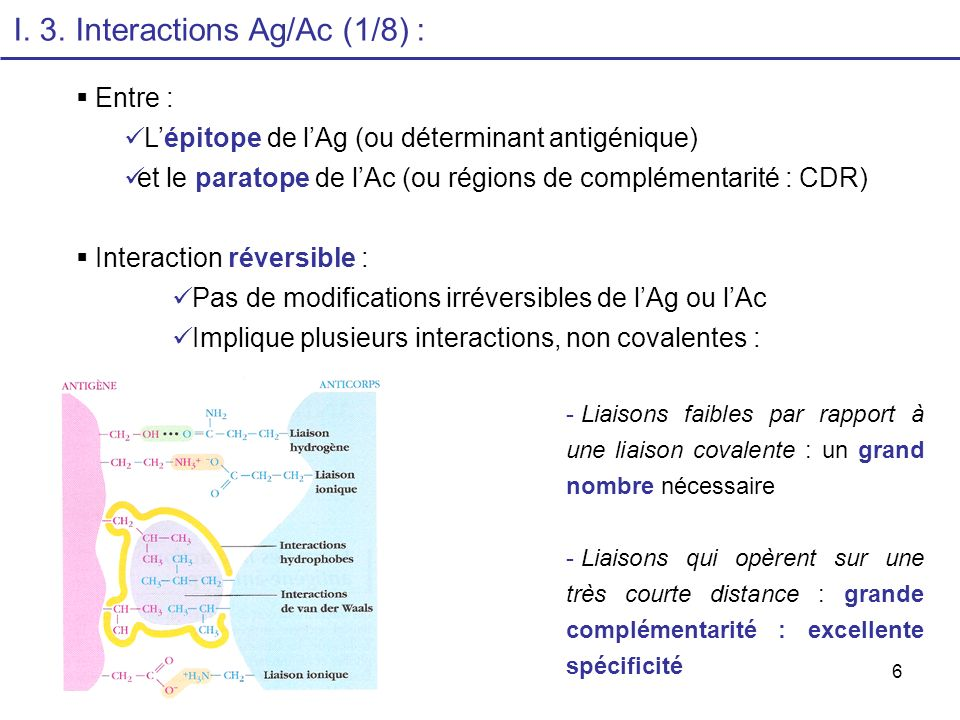 17 II.1. Réactions dAGGLUTINATION (2) : a. Caractéristiques b.