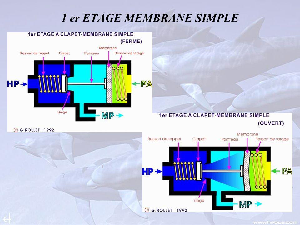 1 er ETAGE MEMBRANE SIMPLE