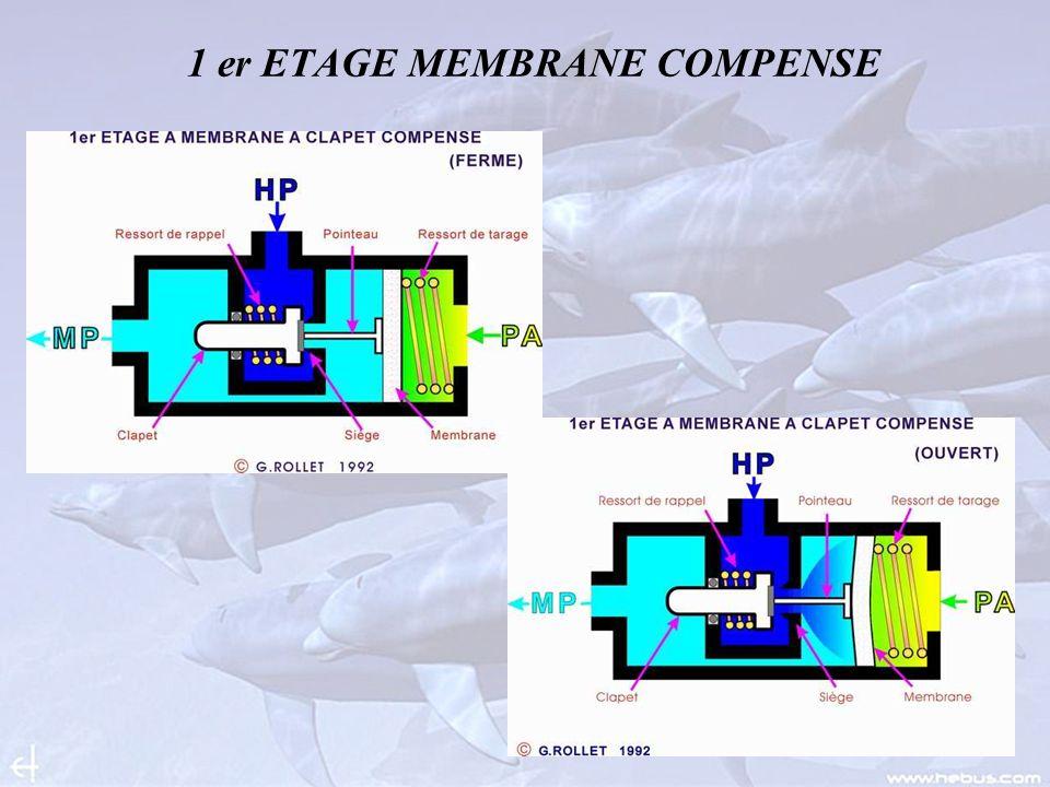 1 er ETAGE MEMBRANE COMPENSE
