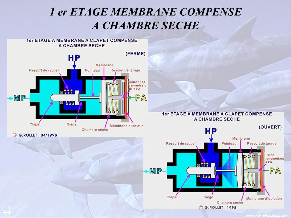 1 er ETAGE MEMBRANE COMPENSE A CHAMBRE SECHE