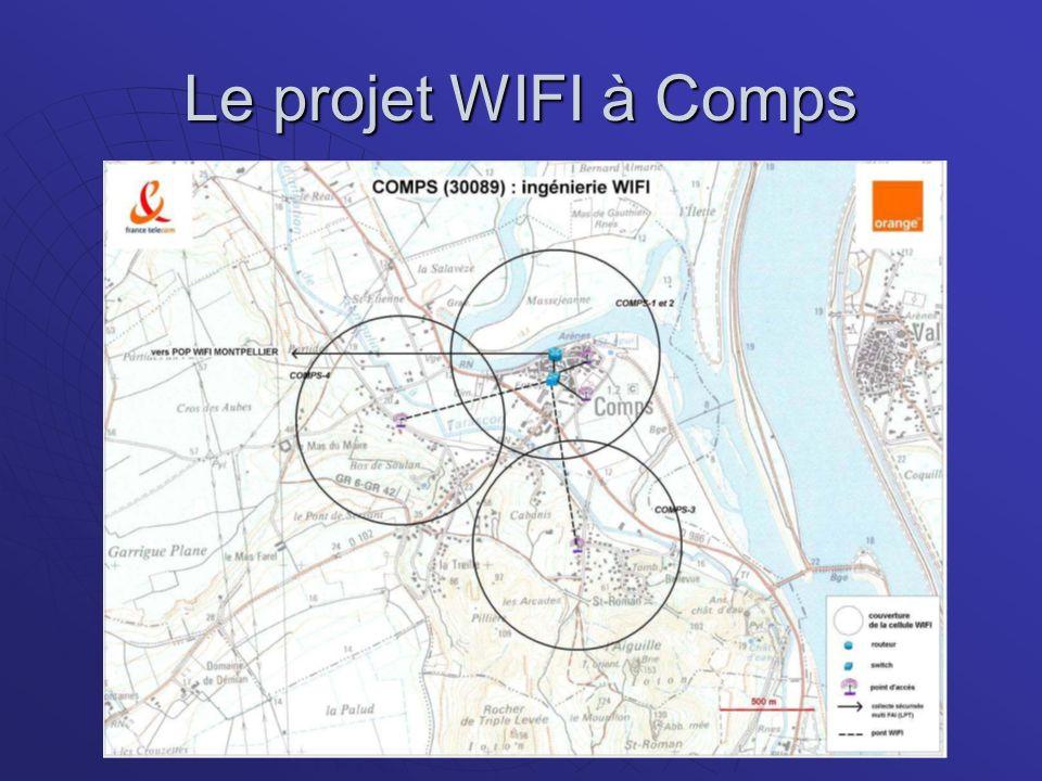 Le projet WIFI à Comps