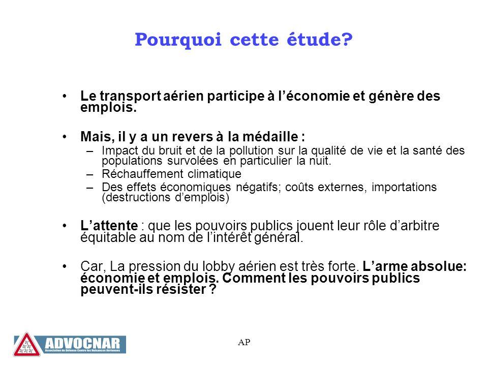 AP Quelques exemples pour illustrer Source : ADP, Limpact socio-économique des aéroports Paris-Charles de Gaulle, Paris-Orly, Paris-Le Bourget - 2012
