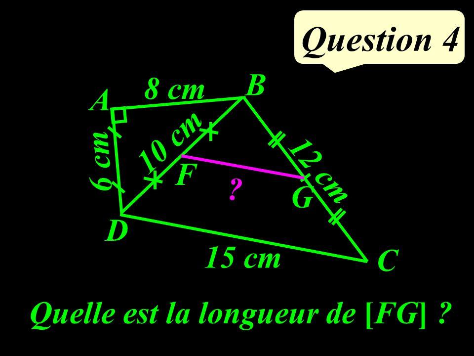 Question 3 La formule qui relie la température en degrés Celsius et la température en degrés Farenheit est : où t est la température en °C et T la température en °F.