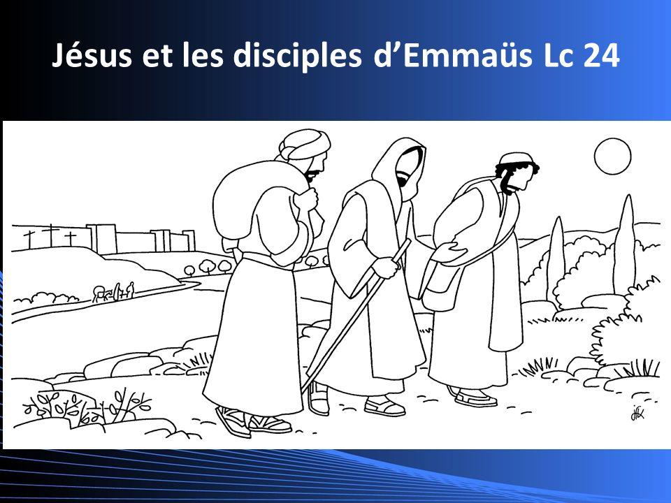 Jésus et les disciples dEmmaüs Lc 24