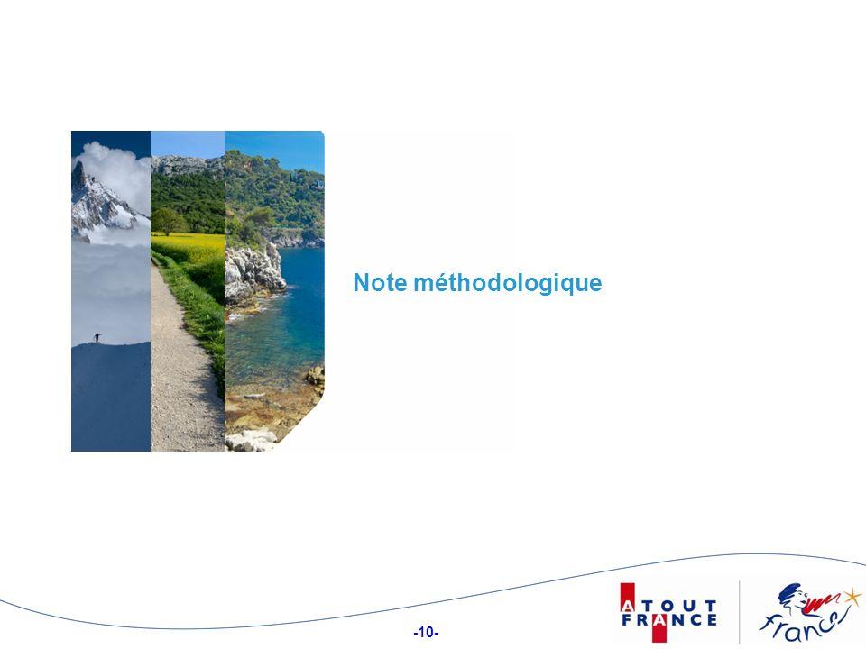 -10- 10 Note méthodologique